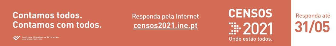 Censos 2021 - Contamos todos, contamos com todos