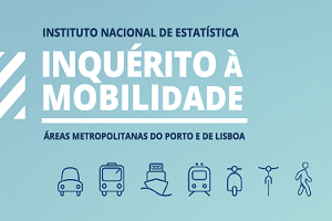 Residents in the Metropolitan Areas of Porto and Lisboa made on average 2.72 and 2.60 journeys per day, with durations of 22.0 and 24.5 minutes, respectively