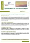 Imagem sobre Boletim Mensal da Agricultura e Pescas - Agosto de 2016