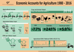 Economic Accounts for Agriculture 1980 - 2016