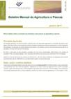 Imagem sobre Boletim Mensal da Agricultura e Pescas - Março de 2017