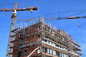 Year on Year Housing construction costs with a 2.7% increase