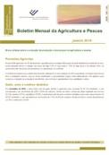 Imagem sobre Boletim Mensal da Agricultura e Pescas - Março de 2019
