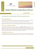 Imagem sobre Boletim Mensal da Agricultura e Pescas - Janeiro de 2020