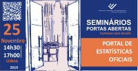 Portas abertas - Portal de Estatísticas Oficiais
